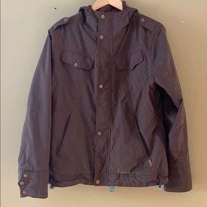 Burton brown snowboard vest